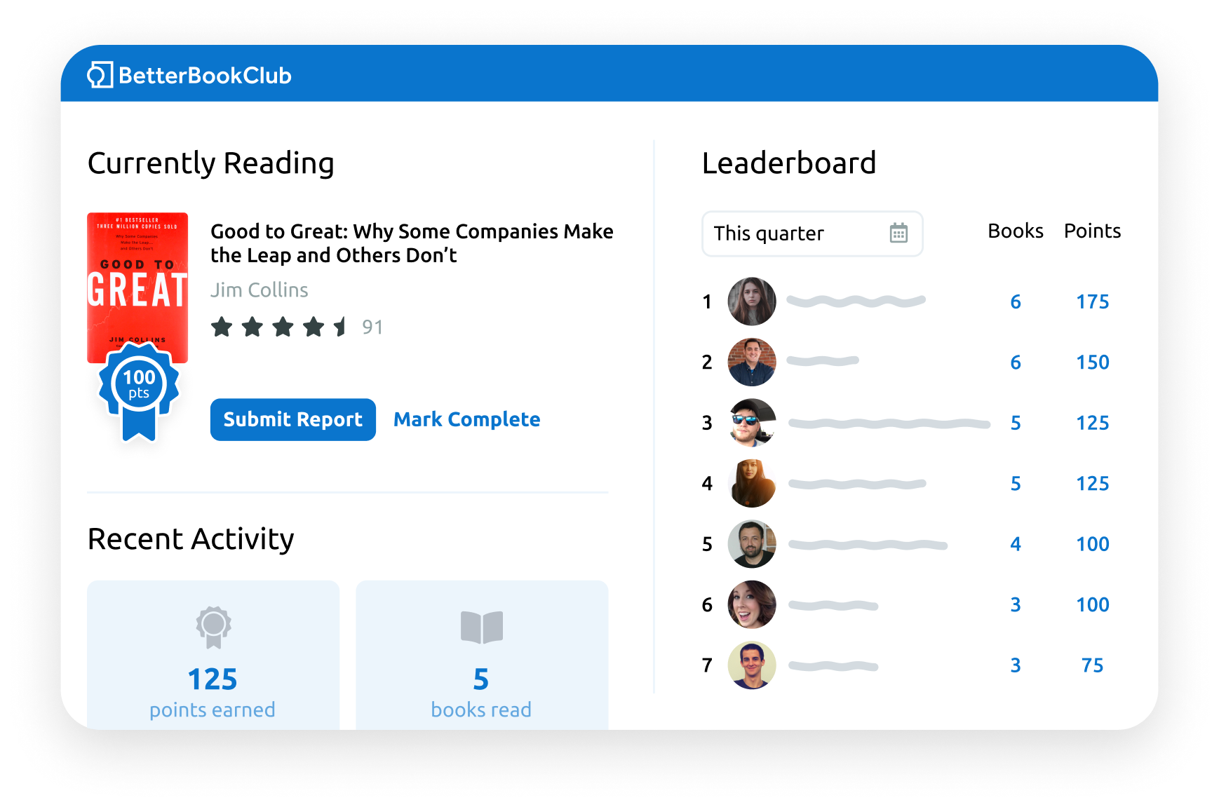 betterbookclub app overview